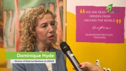 دومينيك هايد تكشف لمريم فرج عن أهمية الشراكة بين UNHCR و  Virgin Megastore