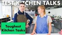 Pro Chefs Share Their Hardest Cooking Tasks