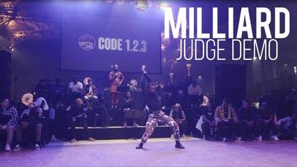 BATTLE GS Code 1.2.3 - JIMMY MILLIARD Judge Demo