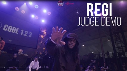 BATTLE GS Code 1.2.3 - REGI CRIMINALZ Judge Demo