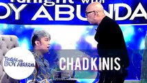 Tito Boy tries how strong Chad Kinis' wig is | TWBA