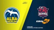 ALBA Berlin - KIROLBET Baskonia Vitoria-Gasteiz Highlights | EuroLeague, RS Round 16
