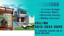 CALL / WA 0813 3034 9099 Gambar Desain Rumah Minimalis Banyuwangi