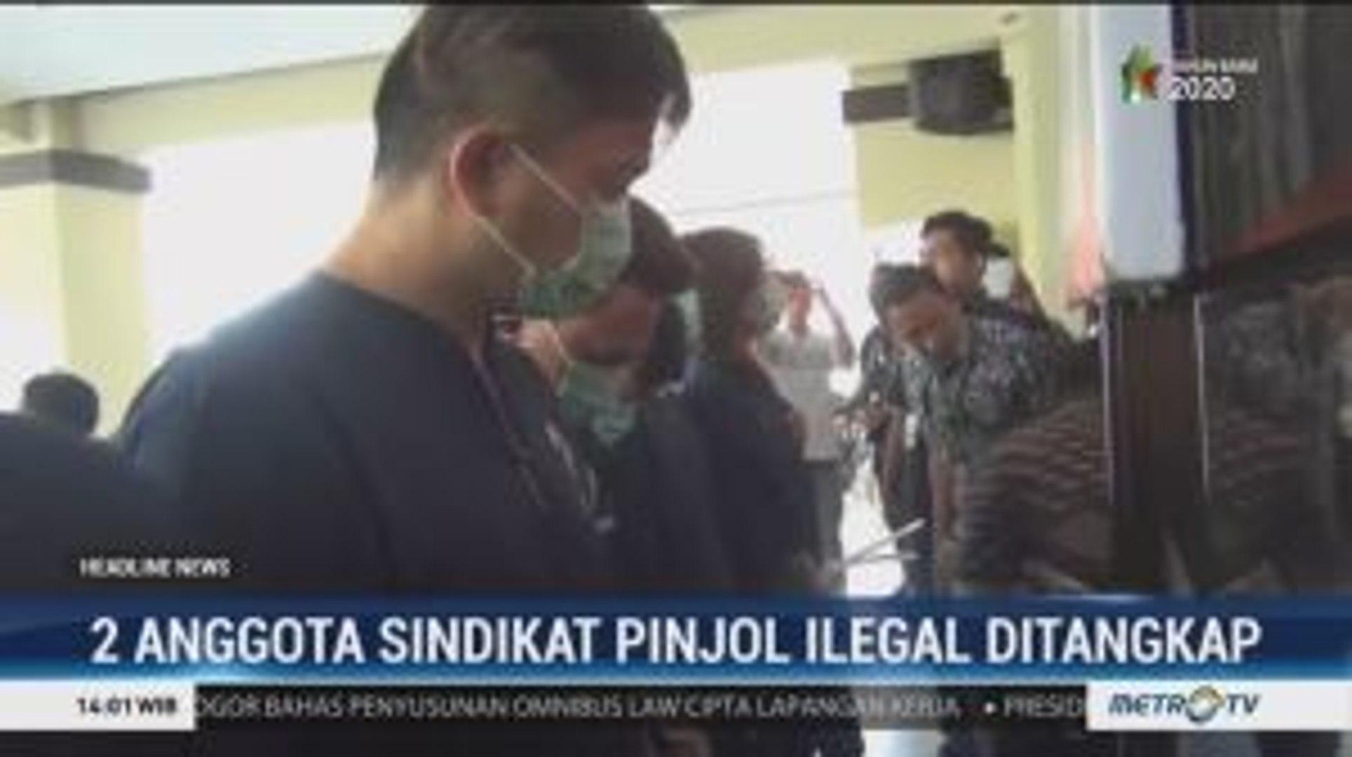 Dua Bos Pinjaman Online Ilegal Di Pluit Ditangkap Video Dailymotion