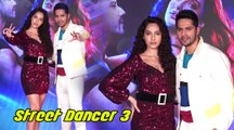 Song Launch Of Garmi From Street Dancer 3d With Varun,Nora, & Remo