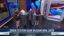 Tren Fesyen Kain Nusantara 2020