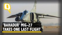 IAF's 'Bahadur' MiG-27 to Take to the Skies One Last Time