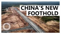 China builds airport in Cambodia, raising fears about its ambitions