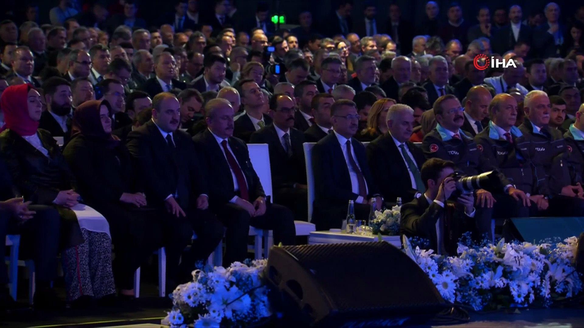 Cumhurbaşkanı Erdoğan: 'Sınıfının en uygun maliyetli aracını inşallah üreteceğiz. Aracımız sıfı