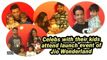 Celebs with their kids attend launch event of Jio Wonderland
