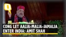 Congress Let 'Aalia-Malia-Jamalia' From Pakistan Enter India: Home Minister Amit Shah