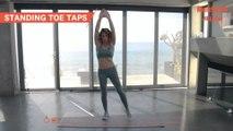 10 Minute Core Workout with Celeb PT Jillian Michaels | Women's Health UK