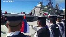 L'Iran, la Russie et la Chine mènent des manoeuvres militaires conjointes en mer d'Oman
