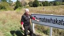 Le nom de ce lieu de Nouvelle-Zélande est long... très long