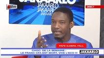 Jakaarlo bi du 27 Décembre 2019 - Le franc CFA est mort, VIVE L'ECO !!!