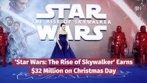 'Star Wars: The Rise of Skywalker' Earns Christmas Money