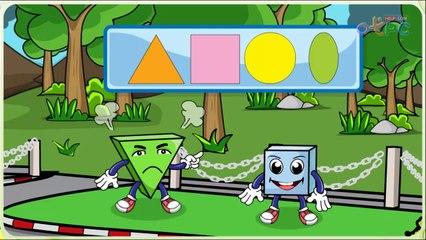 สื่อการเรียนการสอน รูปสี่เหลี่ยม รูปสามเหลี่ยม ป.1 คณิตศาสตร์