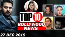 Top 10 Bollywood News - 27 Dec 2019 - Good Newwz, Salman khan Birthday, Kushal Punjabi