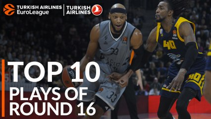 Regular Season Round 16: Top 10 Plays