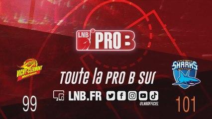 PRO B : Vichy-Clermont vs Antibes (J13)