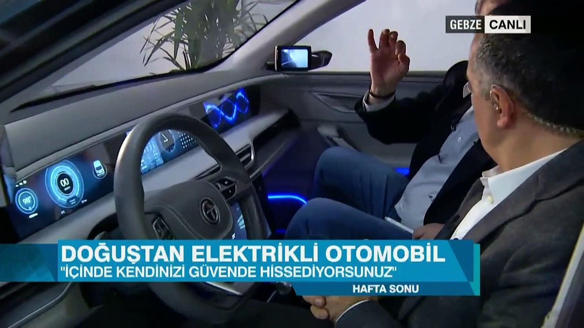 TOGG yerli otomobilin tasarımı ve iç dizaynı CNN TÜRK'te tanıtıldı