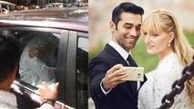 Kushal Punjabi की अंतिम यात्रा में मीडिया से मुंह छिपाती दिखीं पत्नी Audrey Dolhen | FilmiBeat