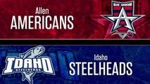 ECHL Allen Americans 0 at Idaho Steelheads 1 (SO)