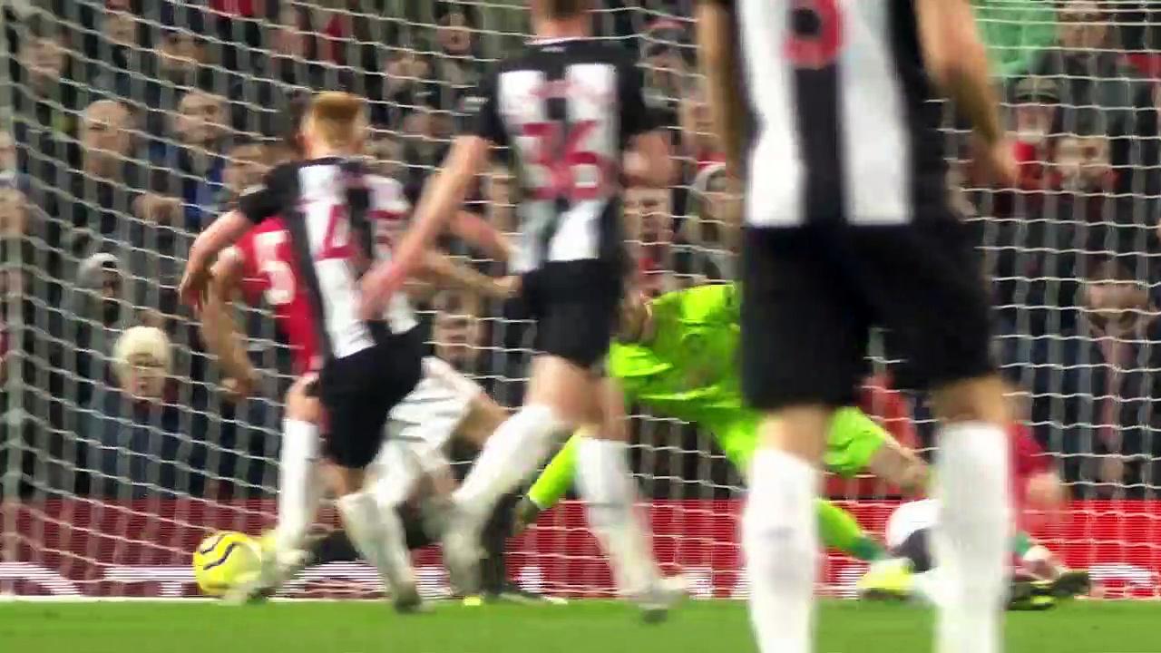Manchester Utd. - Newcastle Utd. (4-1) - Maç Özeti - Premier League 2019/20