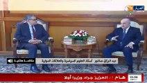 """""""أستاذ العلوم السياسية : """" إختيار عبد العزيز جراد كوزير أول قرار  سليم جدا"""