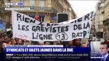 Retraites: à Paris, les manifestants sont arrivés sur la place de la République