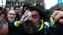 Jérôme Rodrigues encore blessé en manifestant