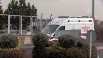 Uçak ambulans 2 hasta için havalandı