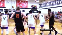 #1 Team From China GETS HEATED vs Wasatch Academy!! Defender Gets HIT IN Face & Then DUNKED ON!