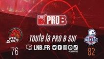 PRO B : Lille vs Nantes (J13)