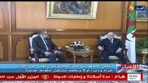 الوزير الأول الجديد عبد العزيز جراد يتسلم مهامه رسميا