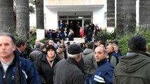 Tabancayla vurularak öldürüen belediye işçisinin cenazesi