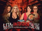 Unforgiven: Trish Stratus & Lita vs. Molly Holly & Gail Kim