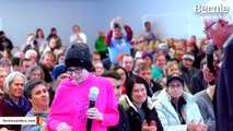 Watch Moving Moment When Girl With Brain Cancer Asks Bernie Sanders Healthcare Question