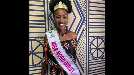 Voici Miss Cameroun 2020 -  Audrey Nabila Monkam