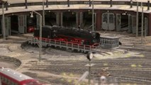 Trains in Germany: Steam locomotives and diesel-electric road-switcher locomotives in HO scale - Video by Pilentum Television about rail transport modeling, trains, model railroading, railway modelling, model railways and model railroads