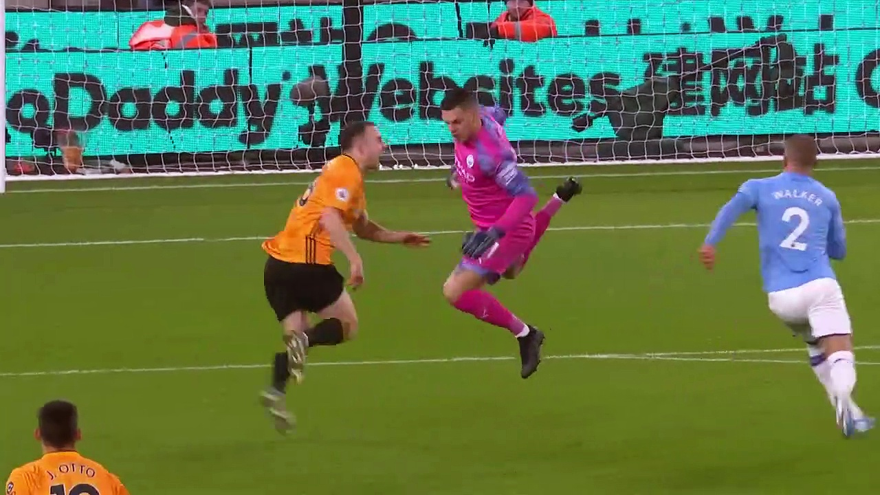 Wolves - Manchester City (3-2) - Maç Özeti - Premier League 2019/20
