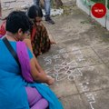 Chennai police detain 7 citizens for drawing 'anti-CAA kolams', released later