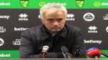"""VIRAL : 20e j. - Mourinho : """"Certaines performances créent des doutes, et d'autres performances tuent les doutes"""""""