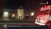 New York : attaque dans la résidence d'un rabbin