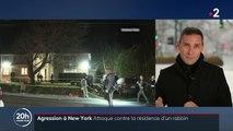 New York : attaque contre la résidence d'un rabbin