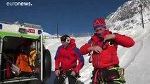 Лавина в Доломитовых Альпах: один погибший