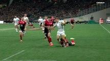 Le superbe essai de Louis Carbonel face au Stade Toulousain