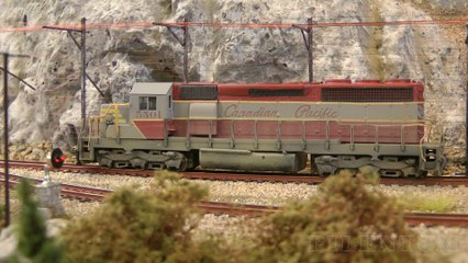 Model Trains in Canada: Locomotives of Canadian Pacific, CP Rail, SOO and Canadian National Railway - Video by Pilentum Television about rail transport modeling, trains, model railroading, railway modelling, model railways and model railroads
