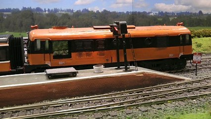 Rail Transport Modeling in Ireland: End-to-End Layout of the Irish Model Railroad Society in O Scale - Video by Pilentum Television about rail transport modeling, trains, model railroading, railway modelling, model railways and model railroads
