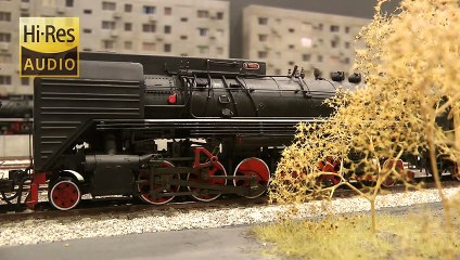 Rail Transport Modeling in China: Steam Locomotives and Diesel Trains - Video by Pilentum Television about rail transport modeling, trains, model railroading, railway modelling, model railways and model railroads
